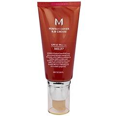 Missha, Perfect Cover B.B. Cream, No.27 Honey Beige, 50 ml