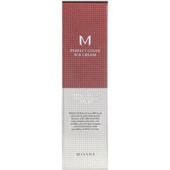 Missha, Perfect Cover B.B. Cream, SPF 42 PA+++, No. 27 Honey Beige, 50 ml