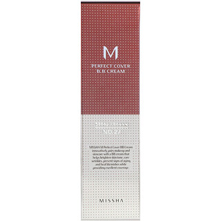 Missha, Perfect Cover B.B. Cream, No.27 Honey Beige, 50 ml