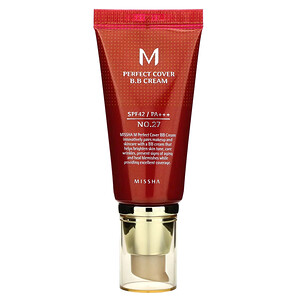 Миша, Perfect Cover B.B. Cream, SPF 42 PA+++, No. 27 Honey Beige, 50 ml отзывы покупателей