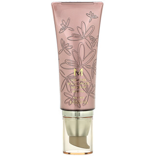 Missha, M Signature Real Complete B.B Cream, No. 21 Light Pink Beige, SPF 25 / PA++, 1.58 oz (45 g)