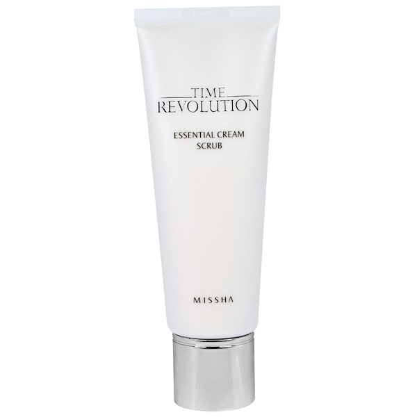 Missha, Time Revolution, Essential Cream Scrub, 3.7 oz (110 ml) (Discontinued Item)