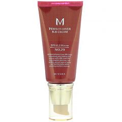Missha, M 完美遮瑕 BB 霜,SPF 42 PA +++,29 號焦糖米色,1.7 盎司(50 毫升)