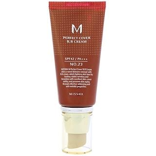 Missha, M Perfect Cover BB Cream, No. 23 Natural Beige, 50 ml