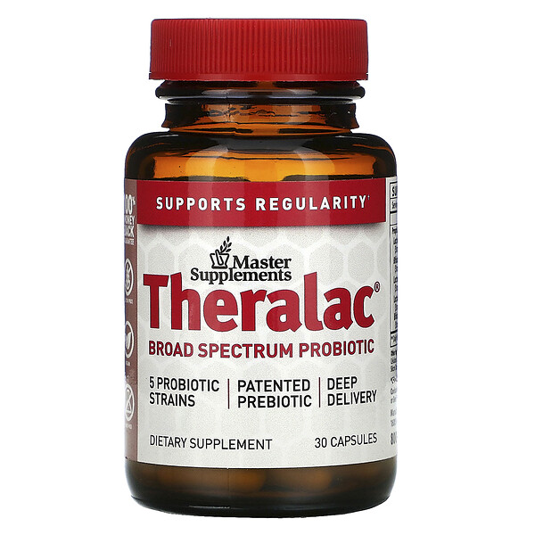 Theralac, Broad Spectrum Probiotic, 30 Capsules