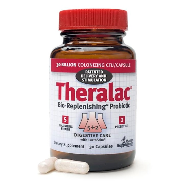 Theralac, Bio-Replenishing Probiotic, 30 Capsules