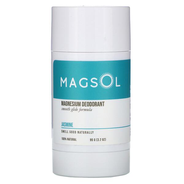 Magsol, 鎂凈味劑,茉莉花,3.2 盎司(95 克)