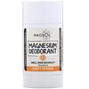 Magsol, マグネシウムデオドラント、スイートオレンジ、80g