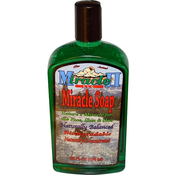 Miracle II Soap, Miracle Soap, 22 fl oz (638 ml) (Discontinued Item)