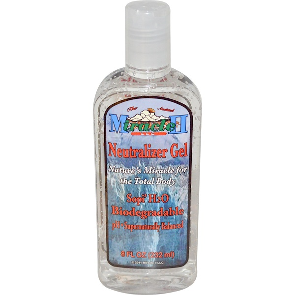 Miracle II Soap, Neutralizer Gel, 8 fl oz (232 ml) (Discontinued Item)