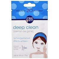 Deep Clean, 1 Маска для Предварительной Обработки Кожи Лица - фото