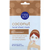 Miss Spa, Coconut Facial Sheet Mask, 1 Mask