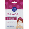 Miss Spa, Red Wine, Facial Sheet Mask, 1 Mask