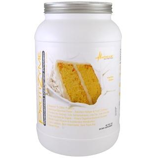 Metabolic Nutrition, ProtiZyme, Specialized Designed Protein, Vanilla Cake, 2 lb