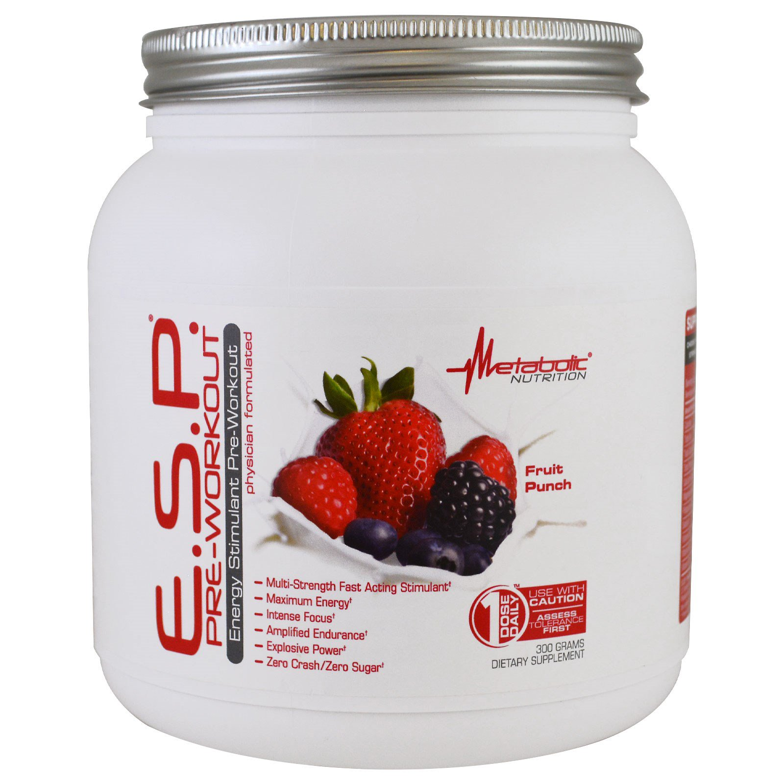 Metabolic Nutrition Esp Pre Workout Fruit Punch 300 G The Curse Cobralabs Pwo Preworkout Power