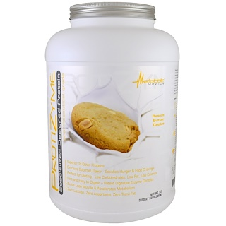 Metabolic Nutrition, ProtiZyme, Specialized Designed Protein, Peanut Butter Cookie, 5 lb