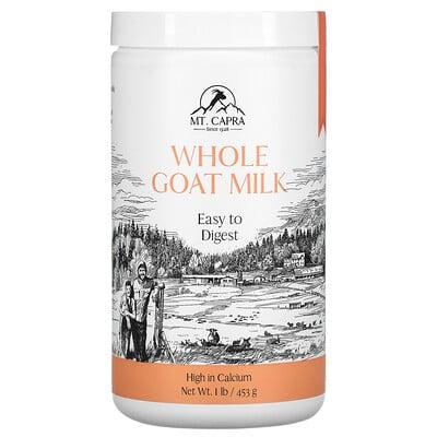 Mt. Capra Whole Goat Milk , 1 lb (453 g)