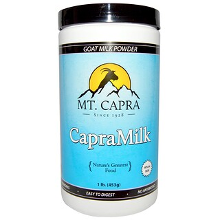 Mt. Capra, CapraMilk, Goat Milk Powder, 1 lb (453 g)