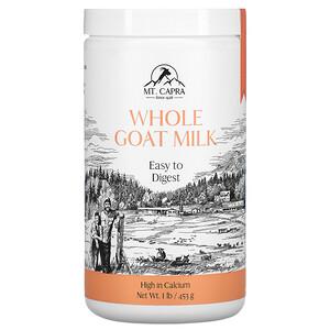 Мт Капра, Whole Goat Milk , 1 lb (453 g) отзывы