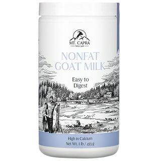 Mt. Capra, 脱脂羊奶粉,1 磅(453 克)