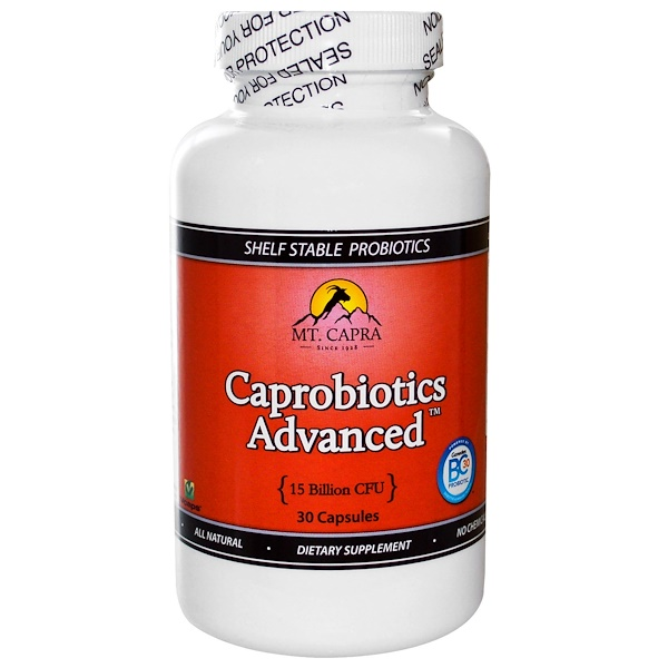 Mt. Capra, Caprobiotics Advanced, 30 Capsules (Discontinued Item)