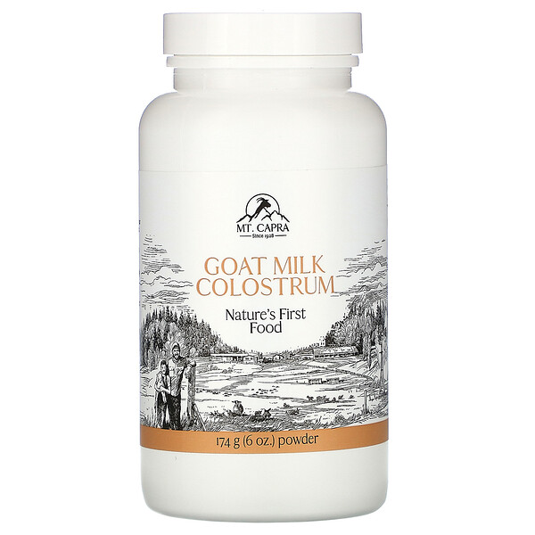 Goat Milk Colostrum, 6 oz (174 g)