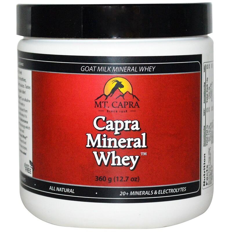 Capra Mineral Whey, 12.7 oz (360 g)