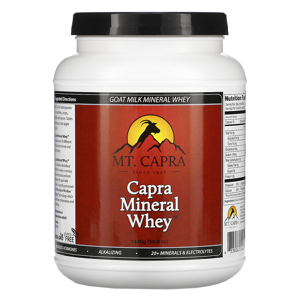 Capra Mineral Whey, 3.17 lbs (1440 g)