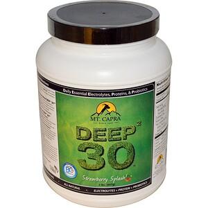 Мт Капра, Deep? 30, Strawberry Splash, 2 lb (907 g) отзывы