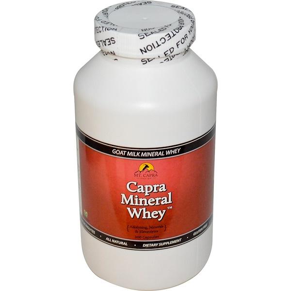 Mt. Capra, Capra Mineral Whey, 300 Capsules (Discontinued Item)
