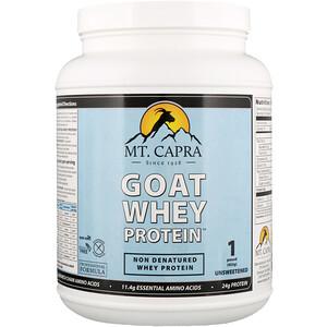 Мт Капра, Goat Whey Protein, Unsweetened, 1 Pound (453 g) отзывы покупателей