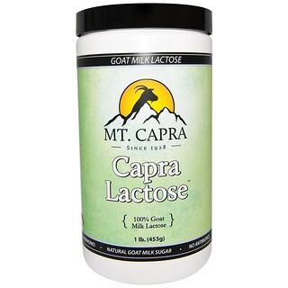 Mt. Capra, カプララクトース、 1 lb (453 g)