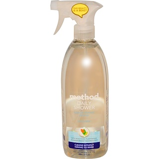 Method, Daily Shower, Limpiador natural para la ducha, Ylang Ylang, 28 fl oz (828 ml)