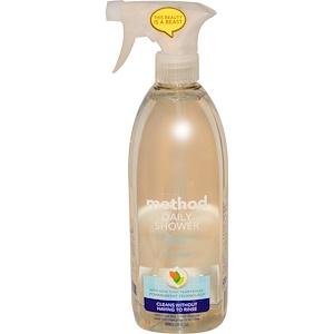 Method, Средство для ежедневного применения, Натуральное чистящее средство для душа, Иланг-иланг, 28 жидких унций (828 мл)