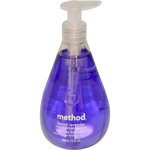 Method, Жидкое мыло для рук, французская лаванда, 12 жидких унций (354 мл) инструкция, применение, состав, противопоказания