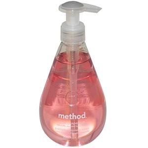 Method, Мыло для рук, Розовый грейпфрут, 12 жидких унций (354 мл) инструкция, применение, состав, противопоказания