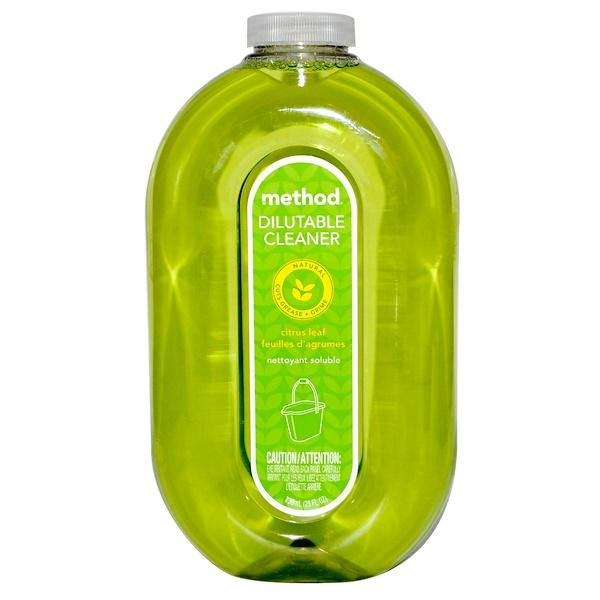 Method, Dilutable Cleaner, Citrus Leaf, 25 fl oz (739 ml) (Discontinued Item)