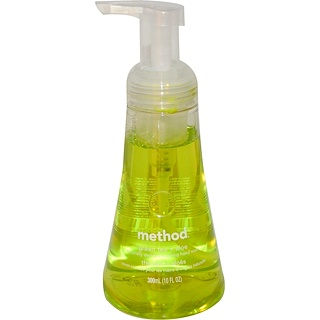 Method, Naturally Derived Foaming Hand Wash, Green Tea plus Aloe, 10 fl oz (300 ml)