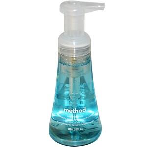 Method, Пенящееся средство для мытья рук, Морские минералы, 10 жидких унций (300 мл) инструкция, применение, состав, противопоказания