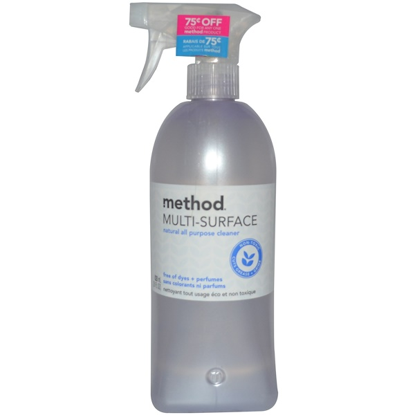Method, Multi-Surface, Natural All Purpose Cleaner, 28 fl oz (828 ml) (Discontinued Item)
