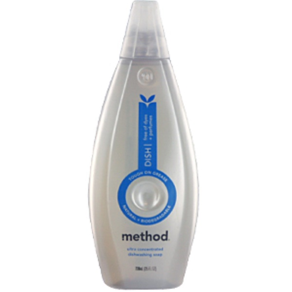 Method, Dishwashing Soap, Ultra Concentrated, 25 fl oz (739 ml) (Discontinued Item)