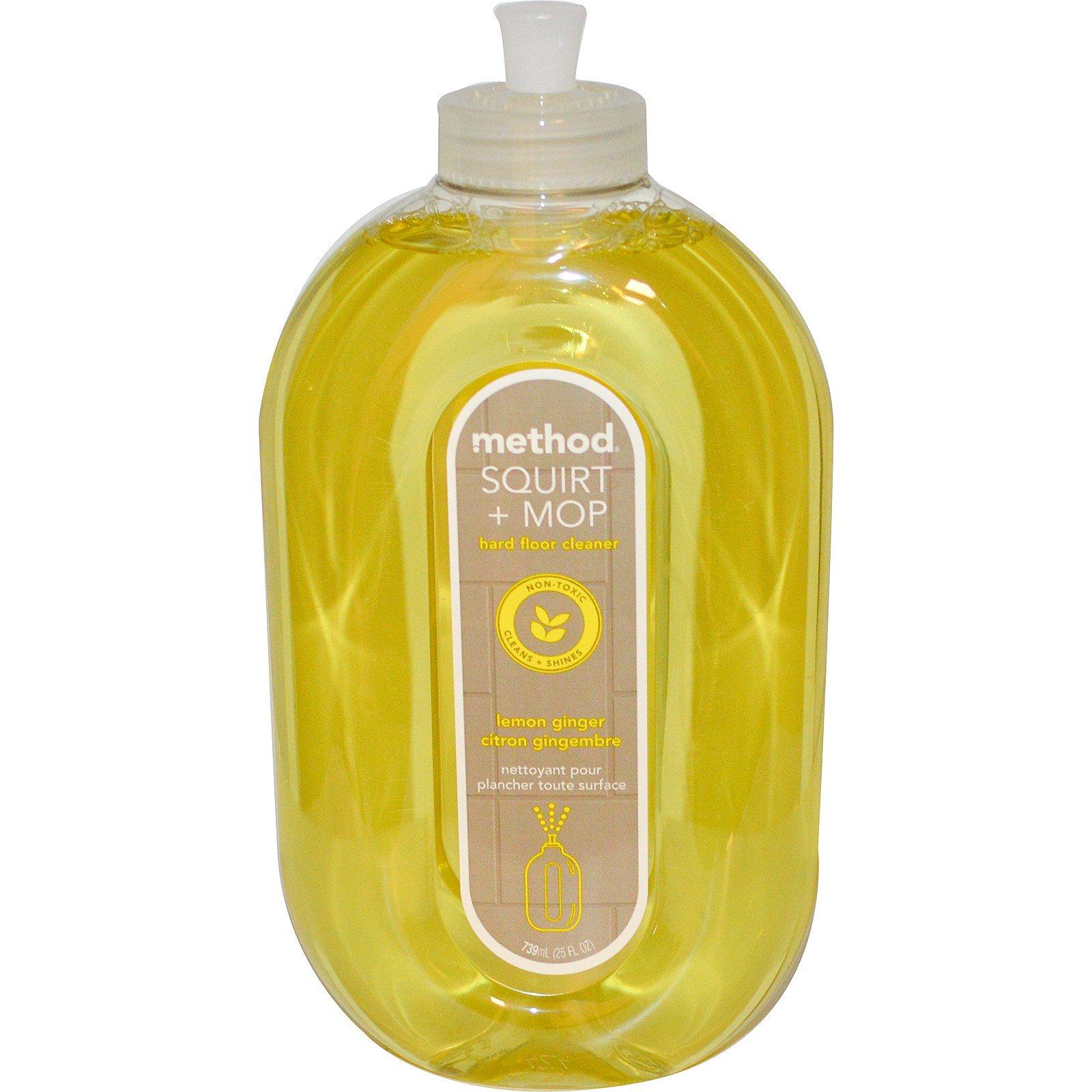 method squirt mop hard floor cleaner lemon ginger 25. Black Bedroom Furniture Sets. Home Design Ideas