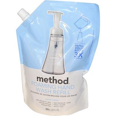 Method 泡沫洗手液補充裝,28液體盎司(828毫升)