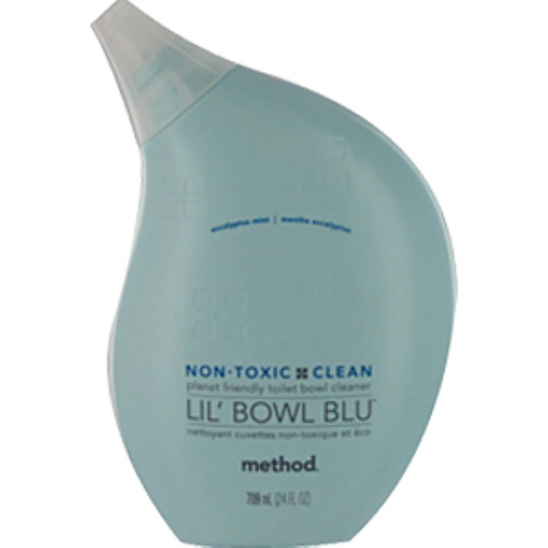 Method, Lil Bowl Blu, Toilet Bowl Cleaner, Eucalyptus Mint, 24 fl oz (709 ml)  (Discontinued Item)