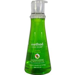 Метод, Dish Soap, Cucumber, 18 fl oz (532 ml) отзывы покупателей