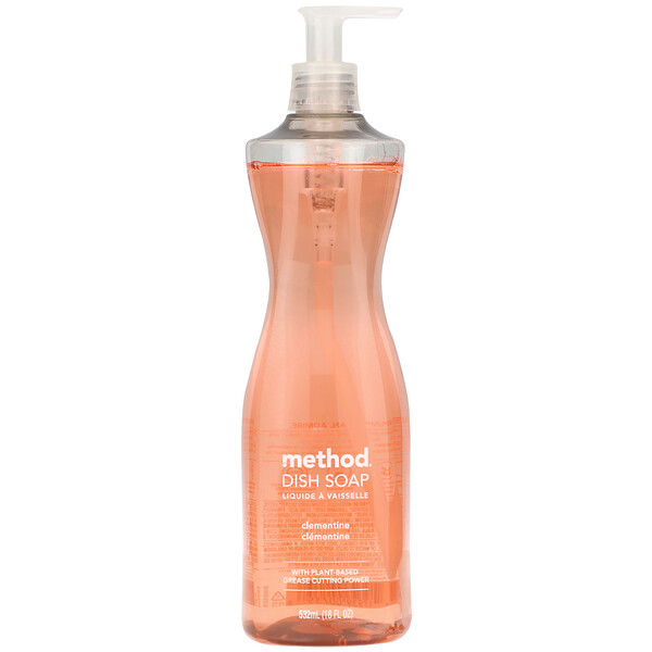 Method, Spülmittel, Clementine, 18 fl oz (532 ml) (Discontinued Item)