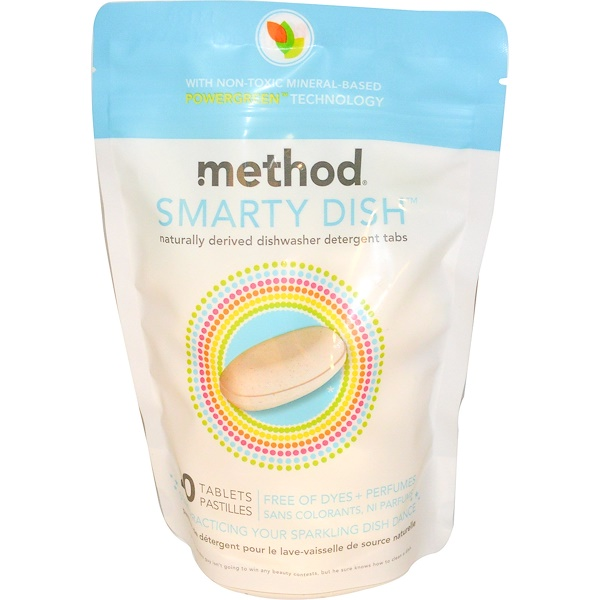 Method, Smarty Dish, 20 Tablets