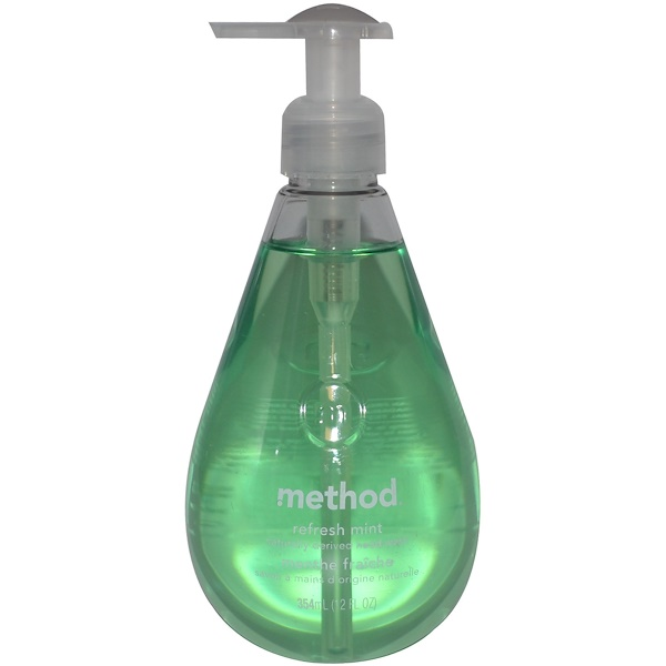 Method, Hand Wash, Refresh Mint, 12 fl oz (354 ml) (Discontinued Item)