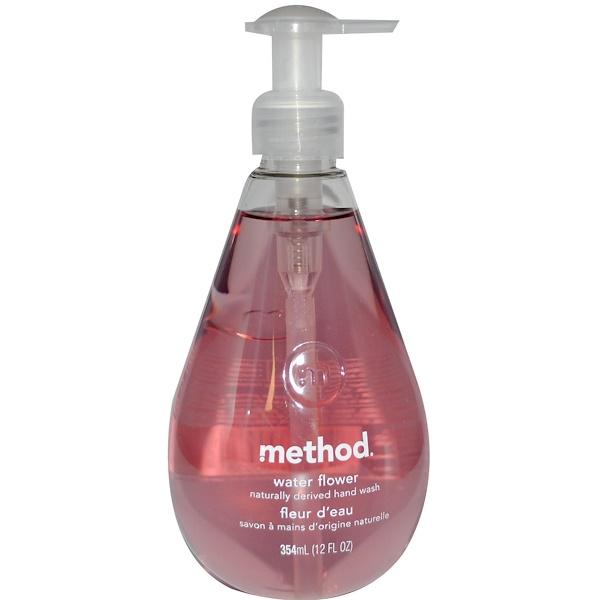 Method, Hand Wash, Water Flower, 12 fl oz (354 ml) (Discontinued Item)