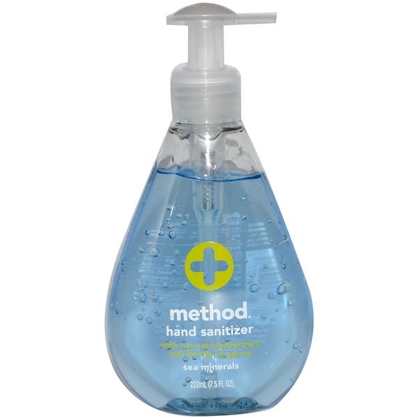 Method, Hand Sanitizer, Sea Minerals, 7.5 fl oz (222 ml) (Discontinued Item)